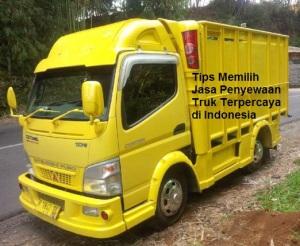 Tips Memilih Jasa Penyewaan Truk Terpercaya di Indonesia.