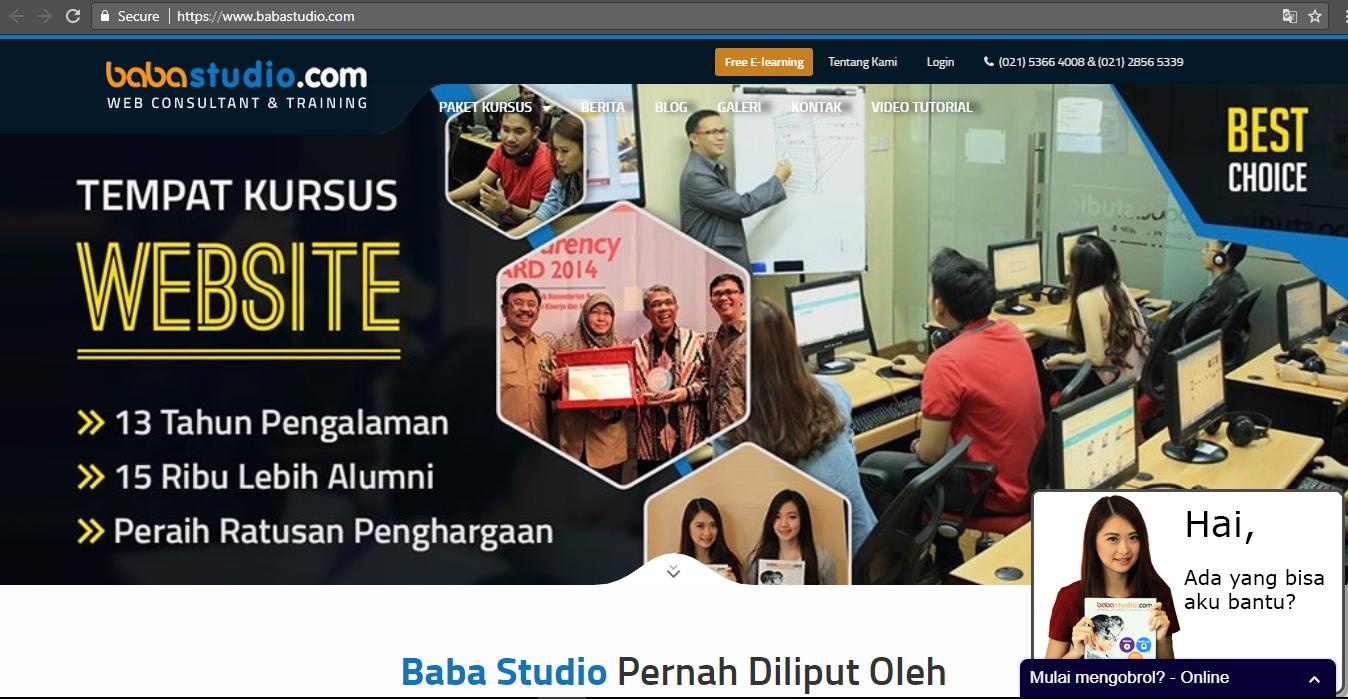 Kursus Online & Belajar Online Bersertifikat di Indonesia