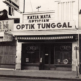 Sejarah Optik Tunggal