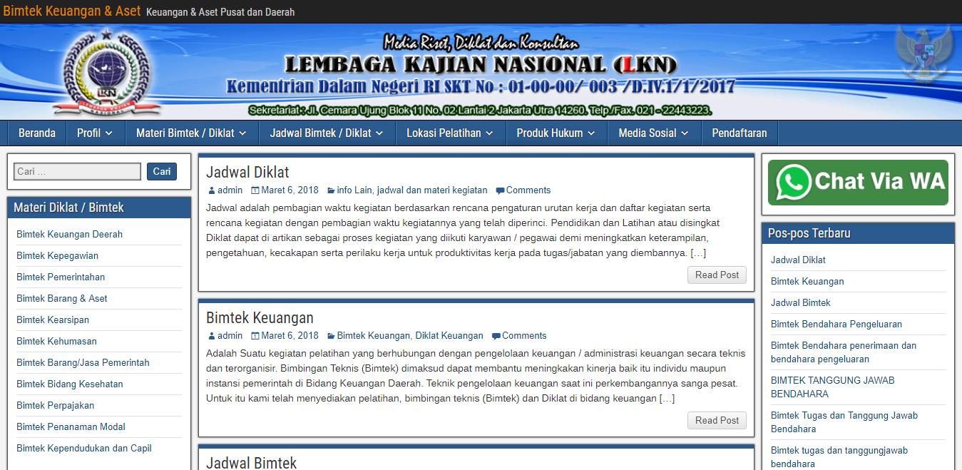 Bimtekkeuangan.info