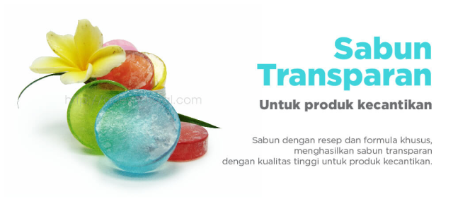 sabun transparan