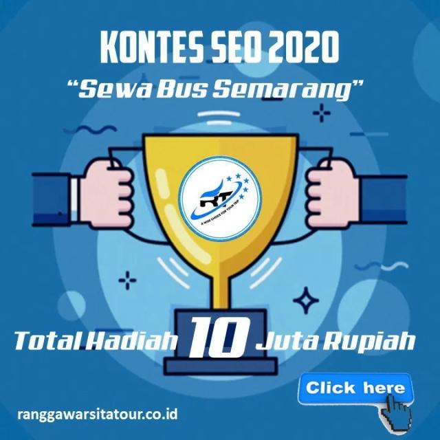Kontes Seo Sewa Bus Semarang dari Ranggawarsita Tour 2020