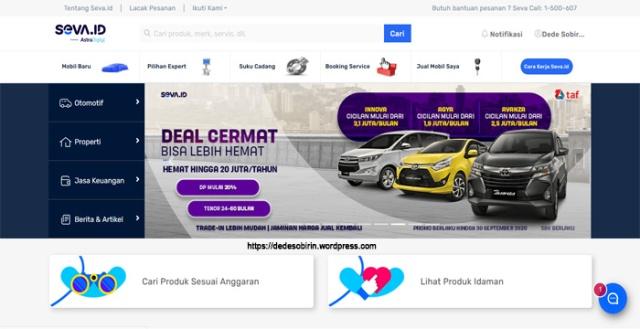 SEVA Pusat Mobil Murah Bekas dan Baru di Indonesia